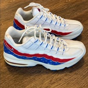 Nike AirMax 2009 vintage  red white blue USA color
